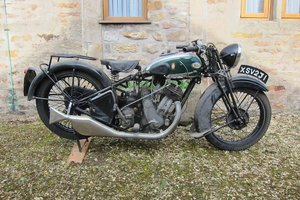 1935 BSA 595CC MODEL M35-10 (LOT 333)
