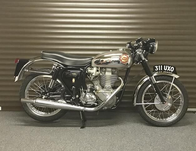 1956 BSA 499CC DBD34 GOLD STAR (LOT 346) SOLD by Auction (picture 1 of 1)