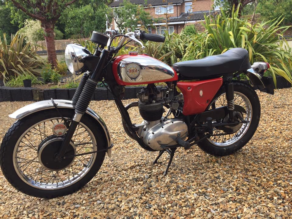 1967 BSA B40 For Sale (picture 1 of 6)