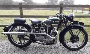 1934 BSA 499CC W34-8 (LOT 420)
