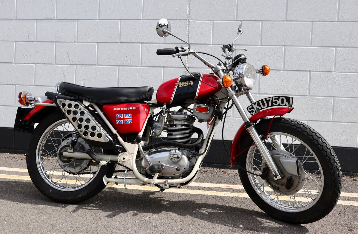 1971 BSA B25SS Gold Star 250cc - Recent Rebuild SOLD (picture 1 of 6)