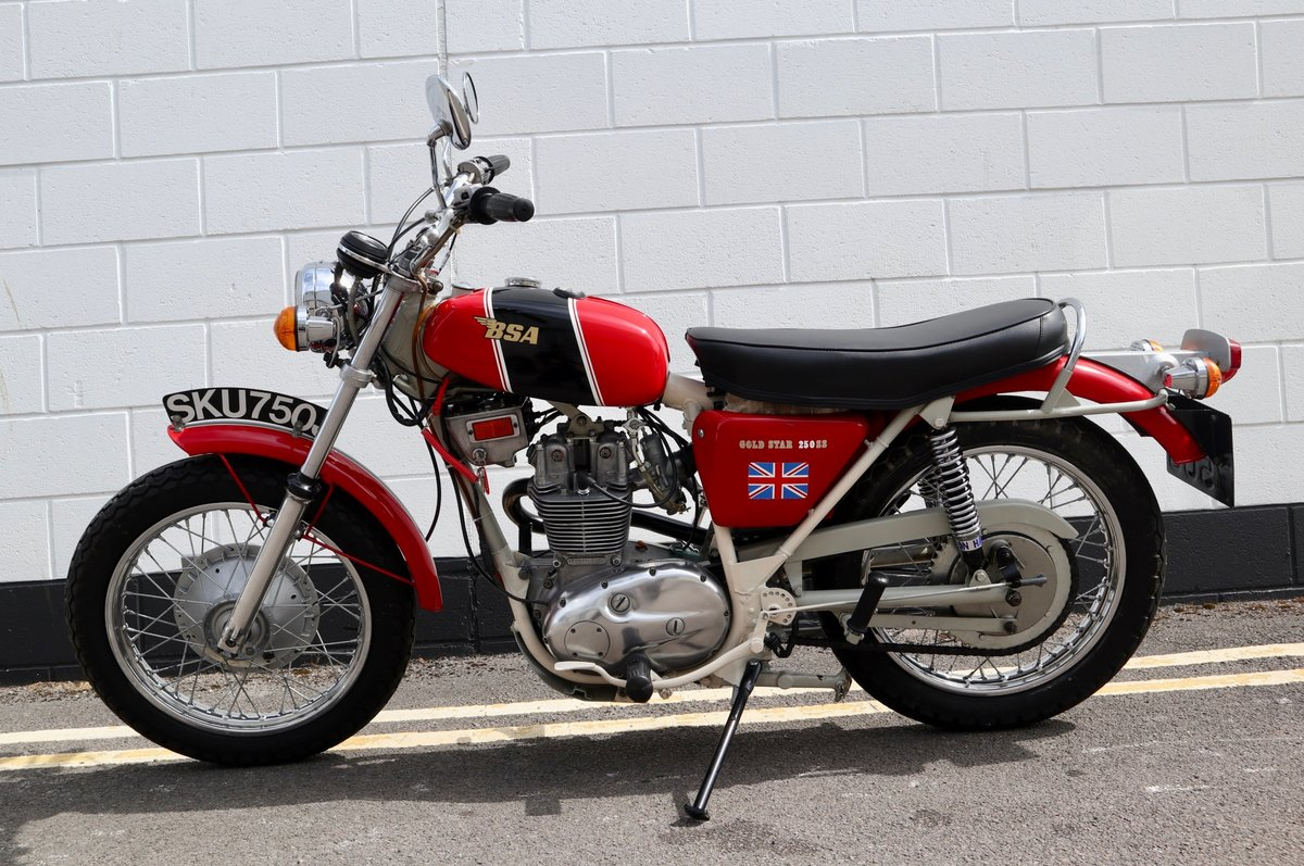 1971 BSA B25SS Gold Star 250cc - Recent Rebuild SOLD (picture 2 of 6)