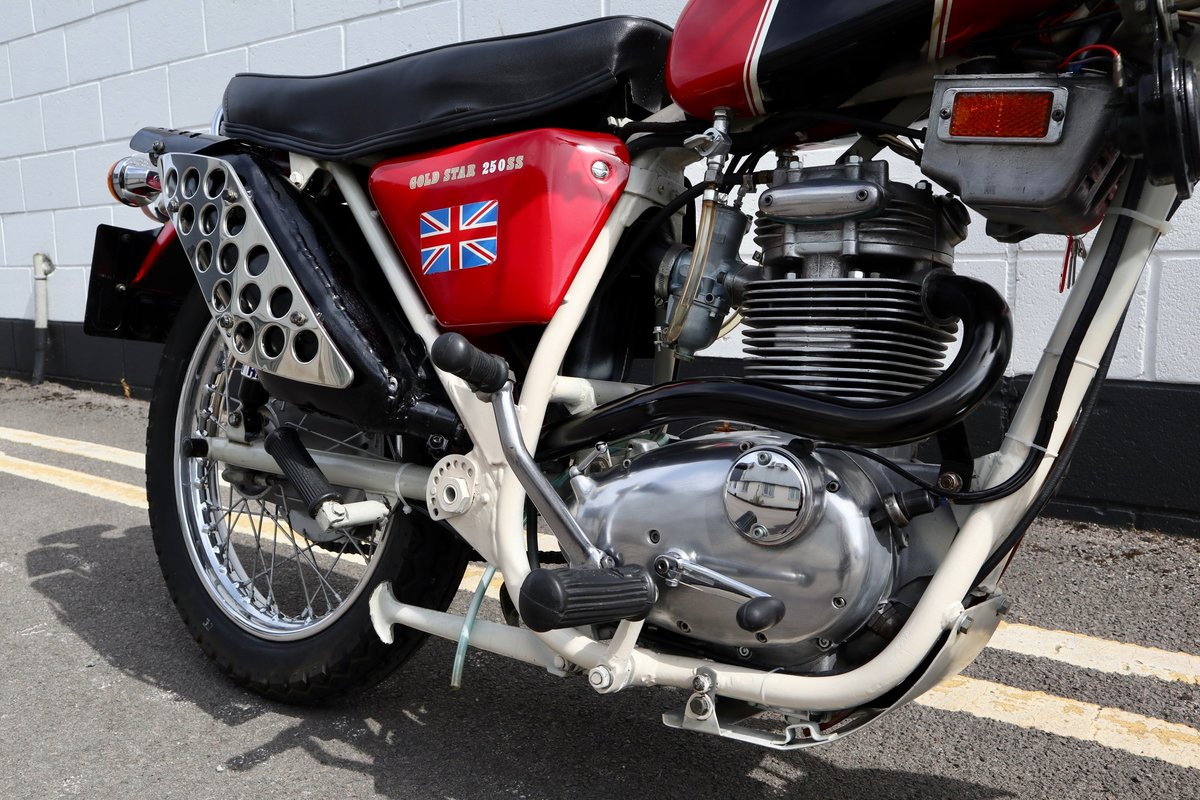 1971 BSA B25SS Gold Star 250cc - Recent Rebuild SOLD (picture 4 of 6)