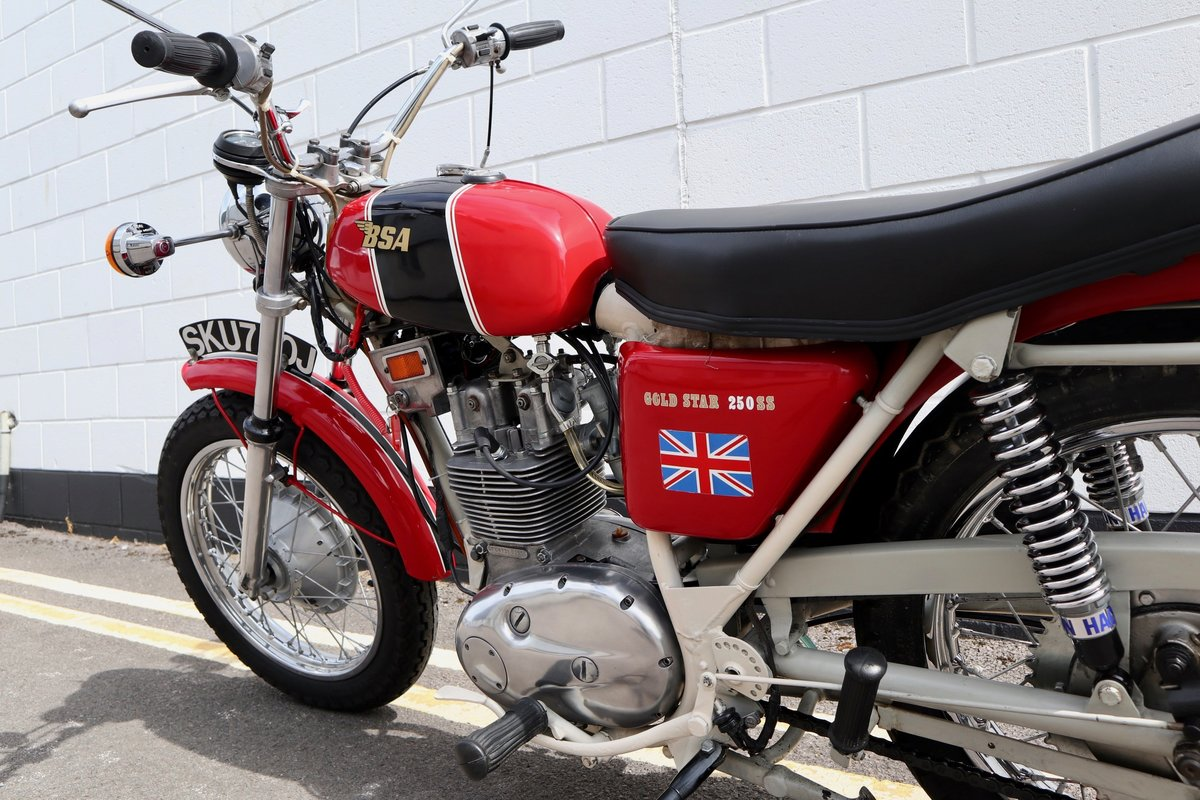 1971 BSA B25SS Gold Star 250cc - Recent Rebuild SOLD (picture 6 of 6)