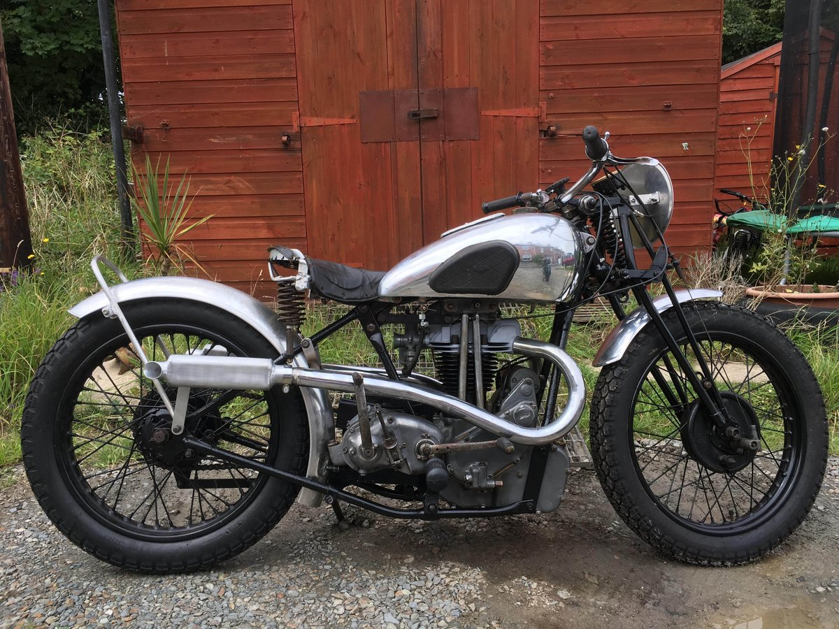 Rare 1936 Bsa new blue star motorcycle For Sale (picture 2 of 6)
