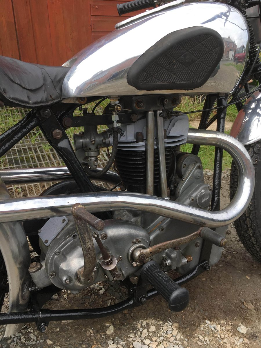 Rare 1936 Bsa new blue star motorcycle For Sale (picture 3 of 6)