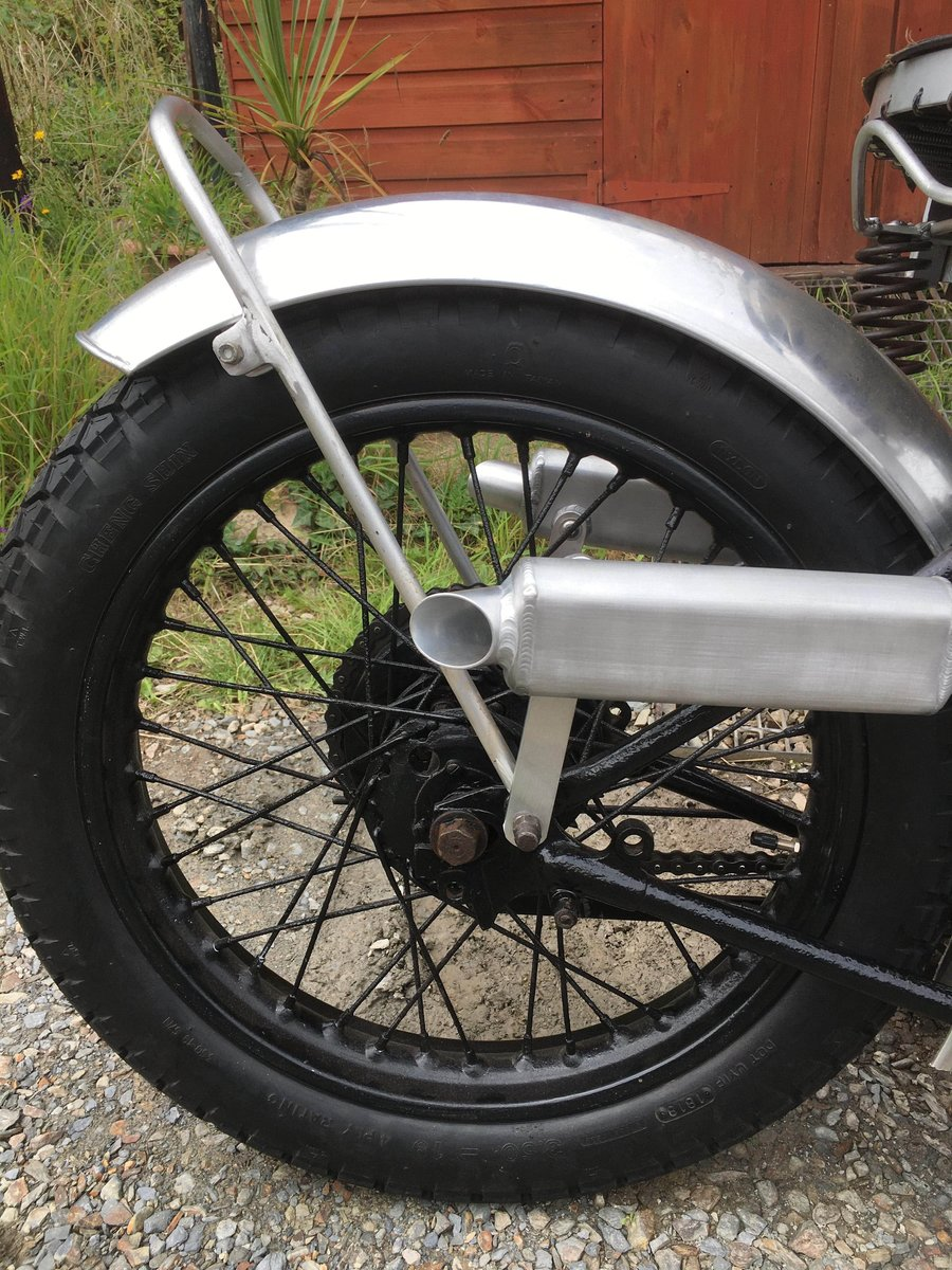 Rare 1936 Bsa new blue star motorcycle For Sale (picture 4 of 6)