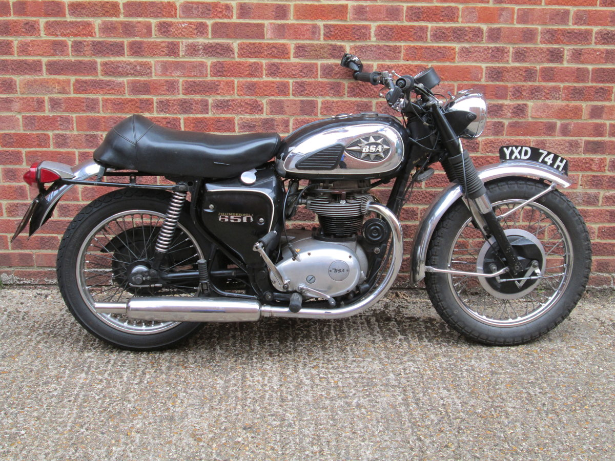 1970 BSA THUNDERBOLT For Sale (picture 1 of 2)