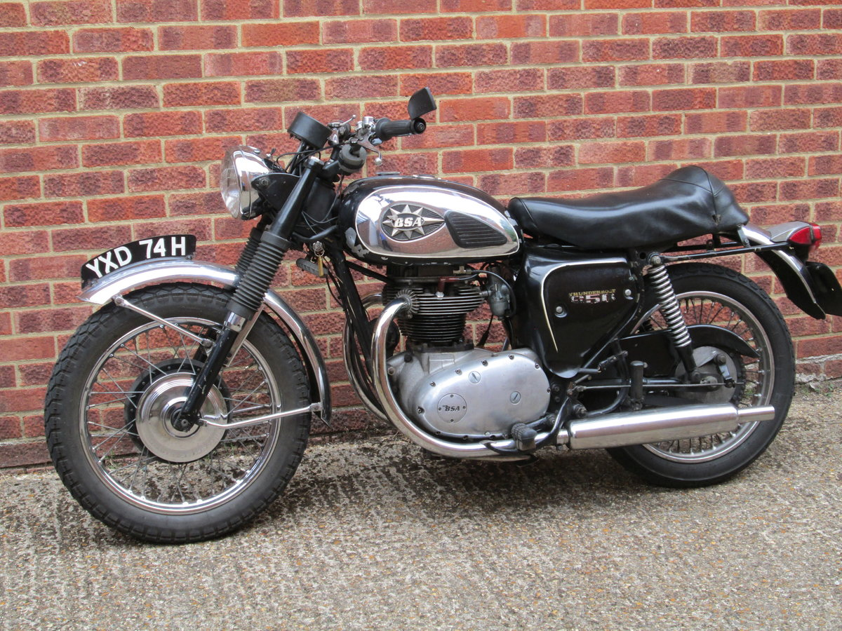 1970 BSA THUNDERBOLT For Sale (picture 2 of 2)
