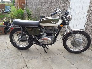 Picture of 1971 Bsa Firebird scrambler  A65