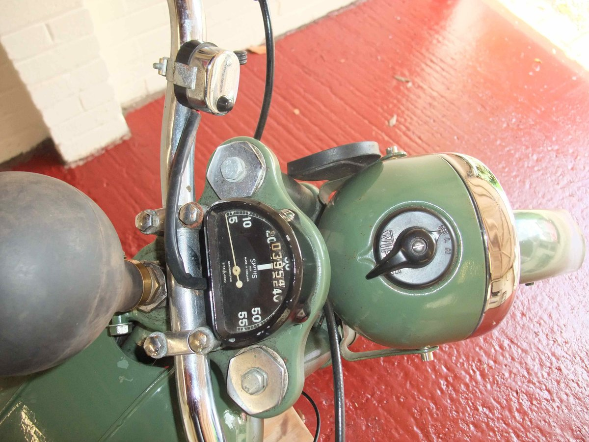 1951 BSA Bantam Plunger For Sale SOLD (picture 4 of 6)
