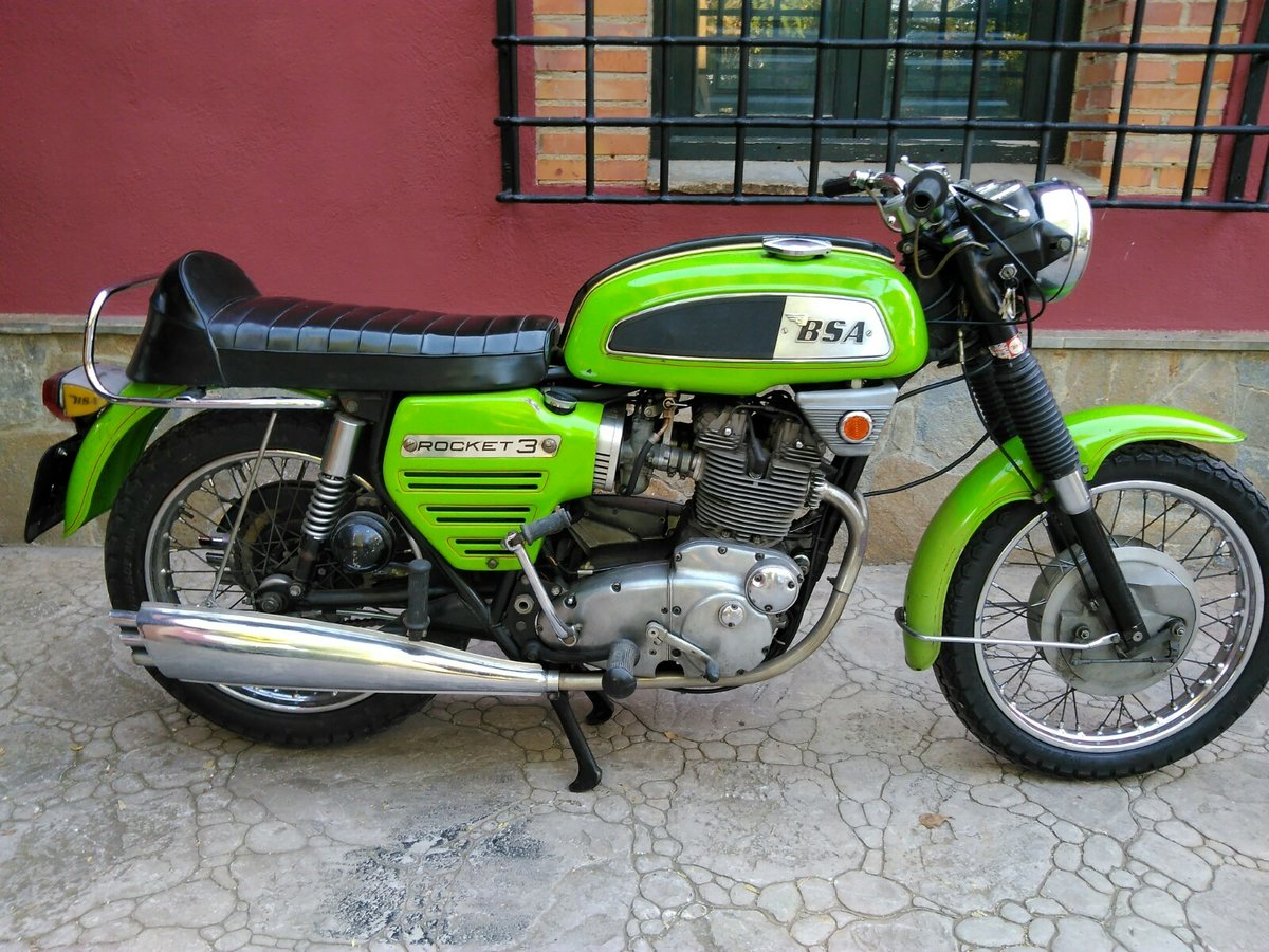 1969 Bsa rocket 3 For Sale (picture 1 of 6)