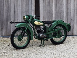 BSA Bantam D1 with Lucas electrics and plunger springs