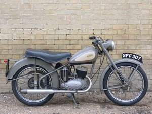 1954 BSA Bantam Major D3 150cc