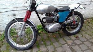 1962 Bsa b40 pre65 trials