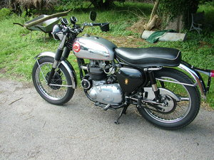 BSA Rocket Gold Star, Original Matching Bike