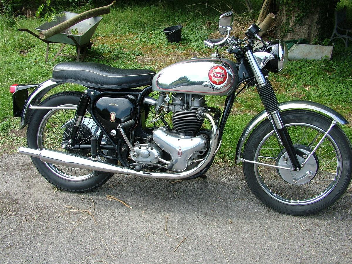 1962 BSA Rocket Gold Star, Original Matching Bike For Sale (picture 2 of 6)