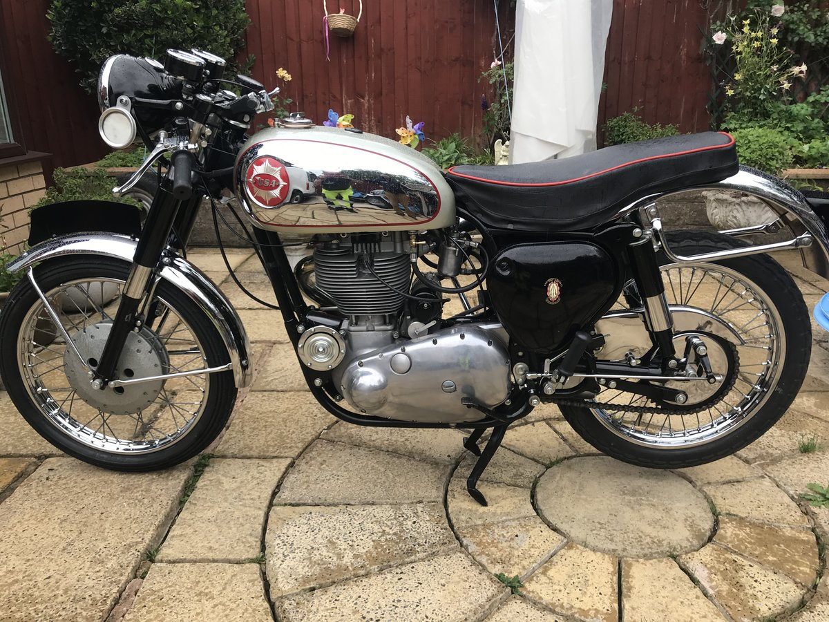 1961 BSA GOLDSTAR DBD34 For Sale (picture 3 of 6)