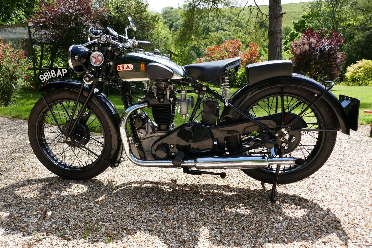 1932 BSA 350cc twin port For Sale (picture 2 of 6)