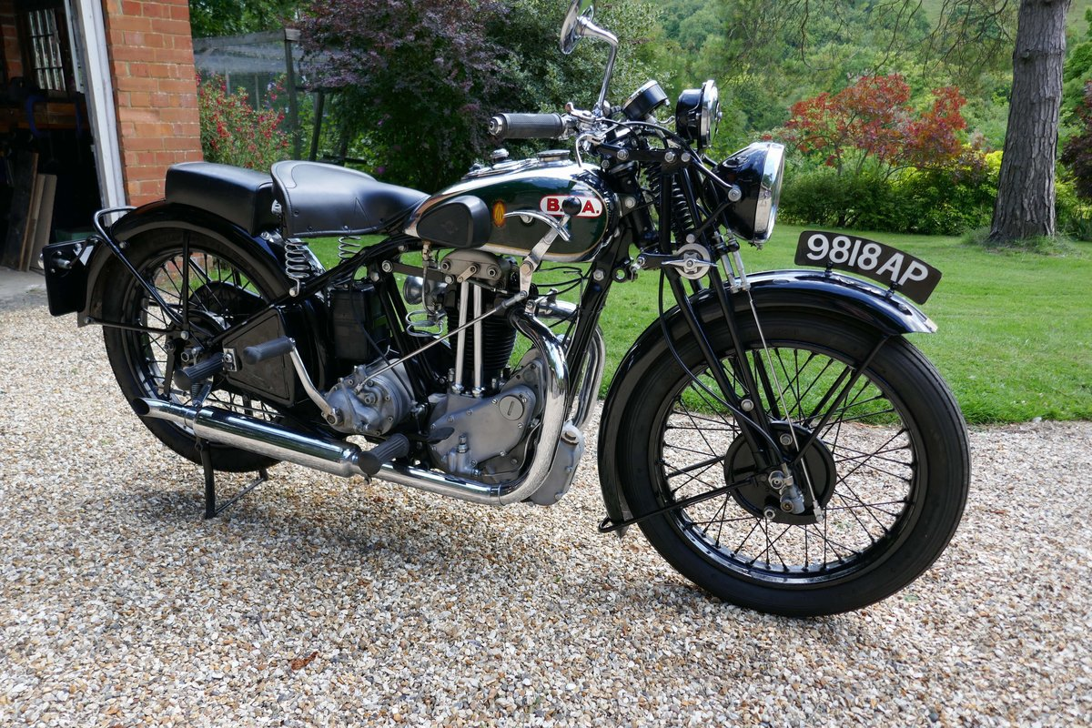 1932 BSA 350cc twin port For Sale (picture 3 of 6)