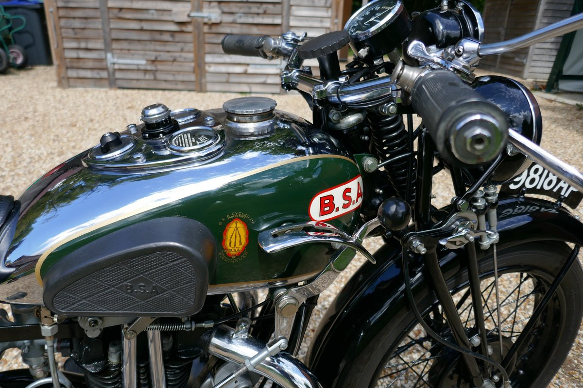 1932 BSA 350cc twin port For Sale (picture 4 of 6)