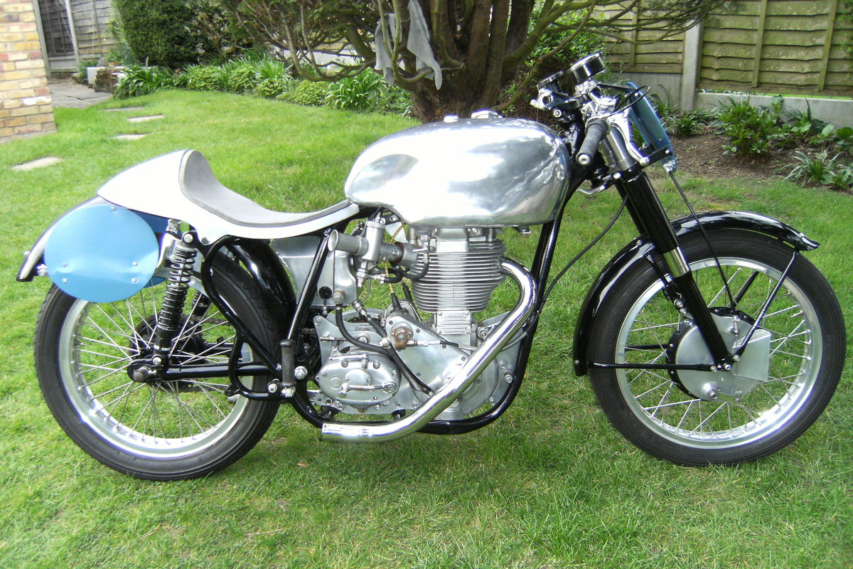 1955 Geoff Duke Bsa Gold Star. For Sale (picture 1 of 6)