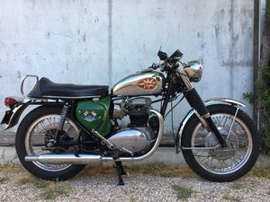 BSA 650 Spitfire Special MKIV 390 miles from new !