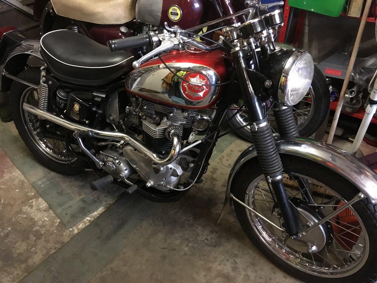 1958 Bsa/Triumph 830cc For Sale (picture 5 of 6)