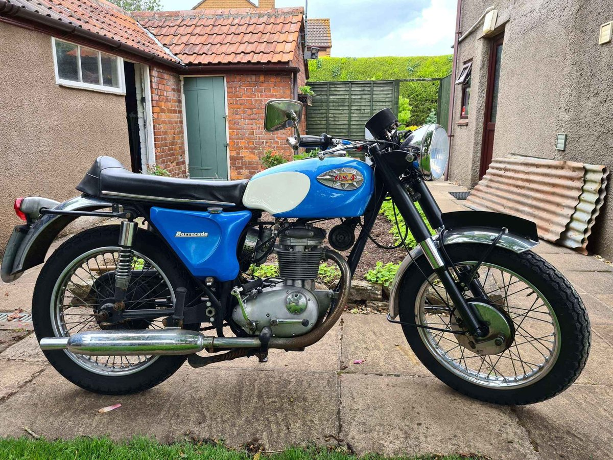 1968 BSA C25 Barracuda (B25 Starfire) For Sale (picture 1 of 3)