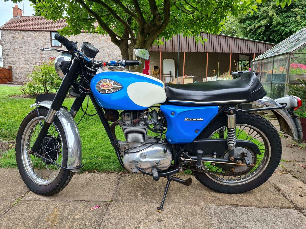 1968 BSA C25 Barracuda (B25 Starfire) For Sale (picture 2 of 3)