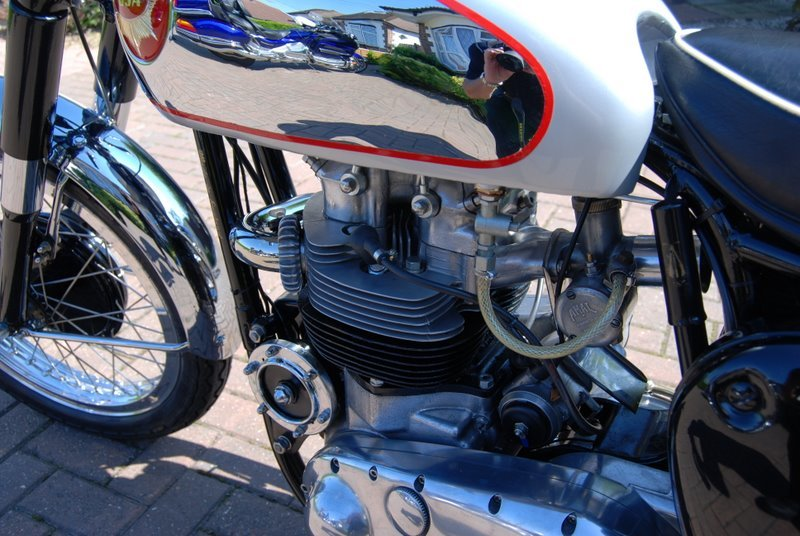 1960 BSA Rocket gold star look alike SOLD (picture 1 of 6)