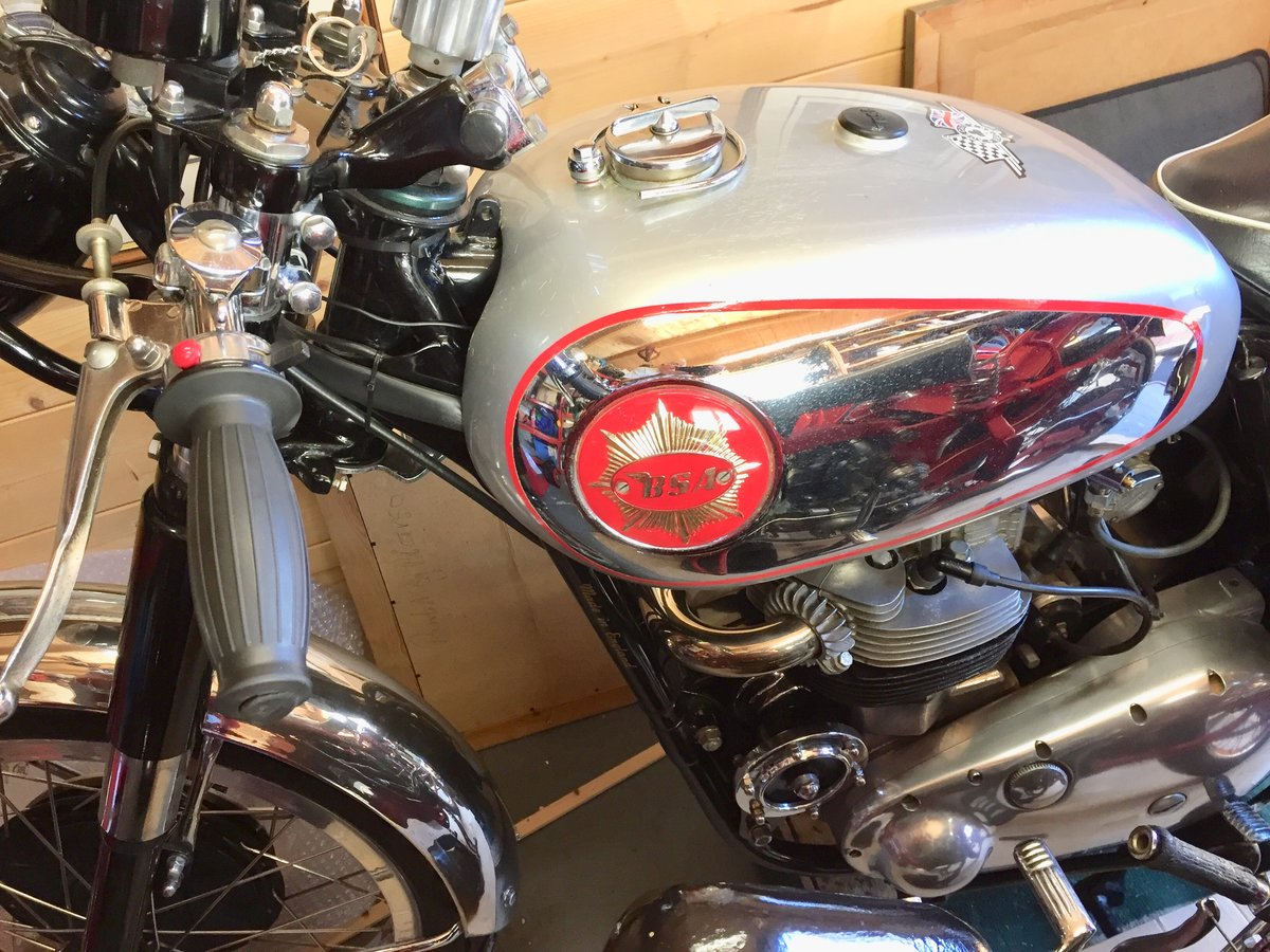 1960 BSA Rocket gold star look alike SOLD (picture 6 of 6)
