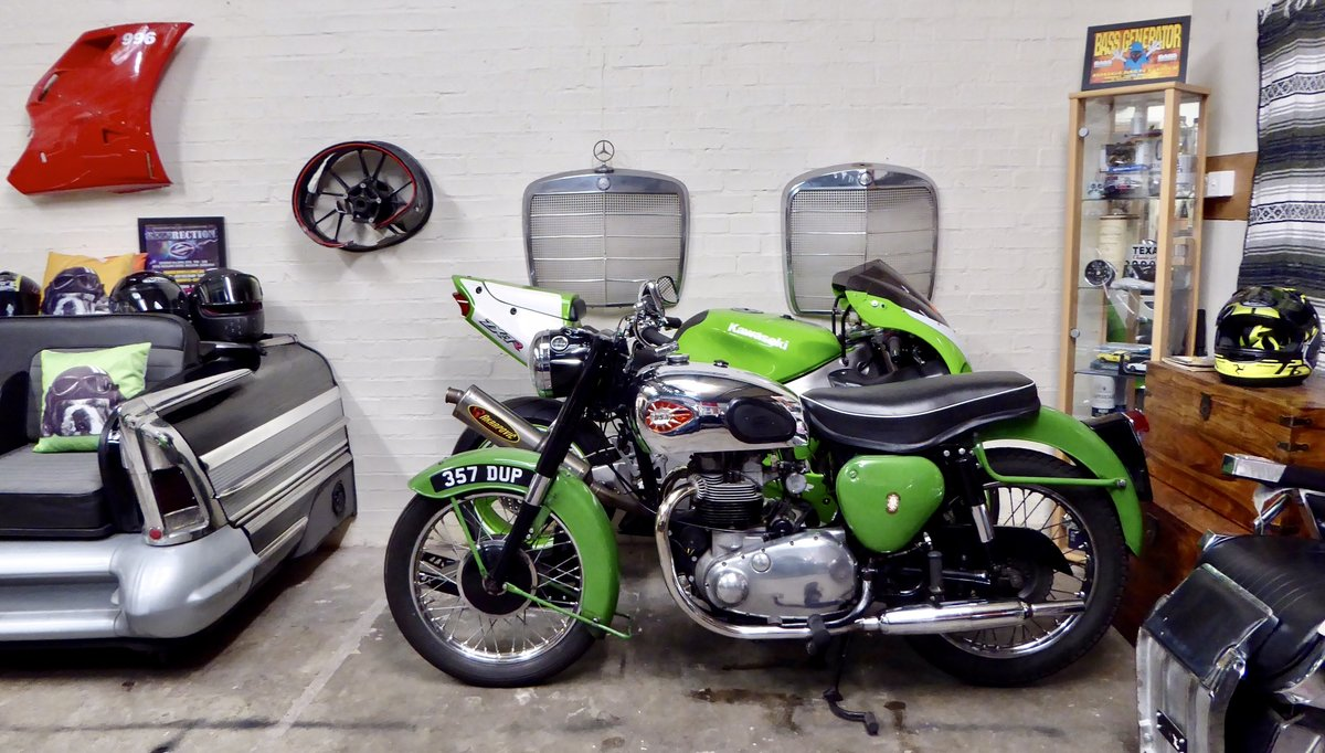 1959 BSA A7 Shooting Star 500 Twin For Sale (picture 3 of 6)