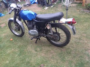 BSA Fleetstar project
