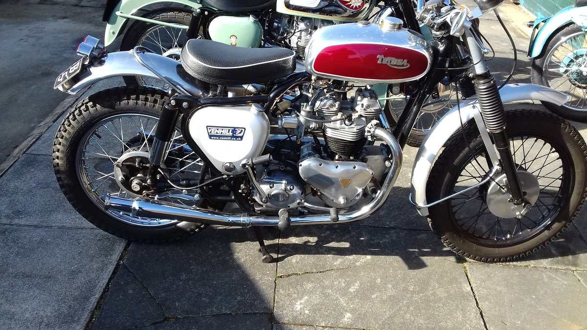 1957 BSA Tribsa bonnie spec motor. Great fun. For Sale (picture 5 of 6)