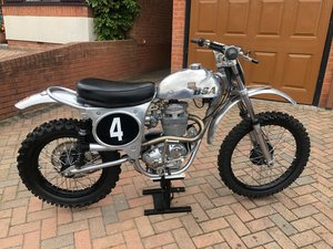 BSA B441 Victor Scrambler (Restored to a B50)