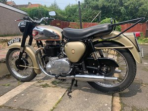 1960 BSA Gold Flash
