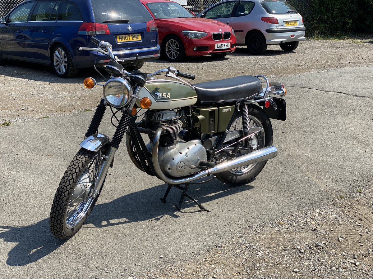 1972 BSA A65 Thunderbolt For Sale (picture 1 of 6)