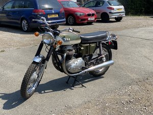 Picture of 1972 BSA A65 Thunderbolt