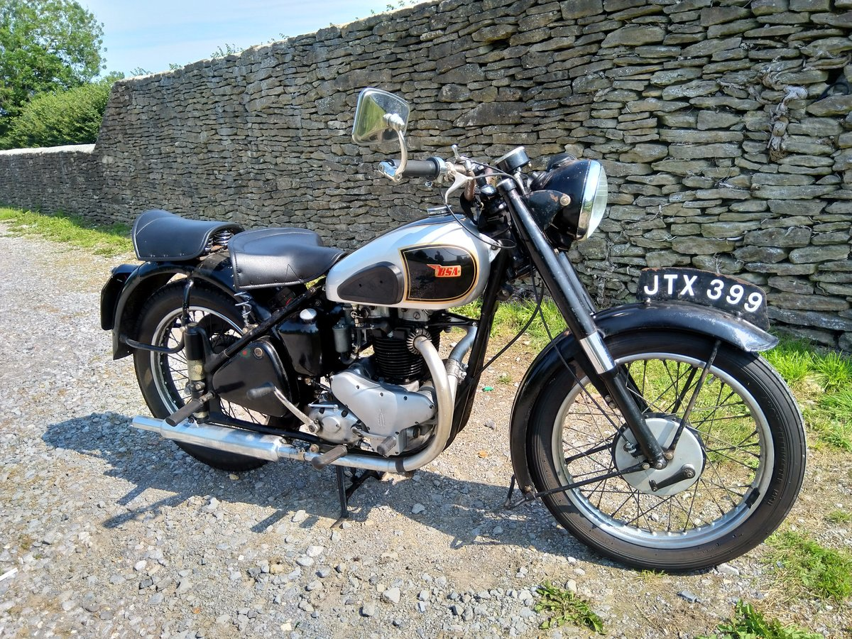 1949 BSA A7 Longstroke For Sale (picture 1 of 4)