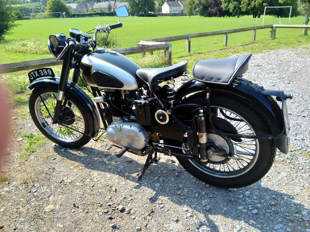1949 BSA A7 Longstroke For Sale (picture 3 of 4)