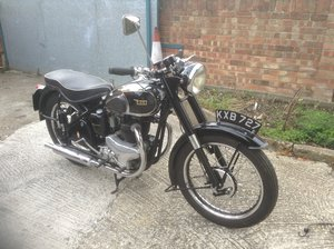 1949 BSA A7 in good order