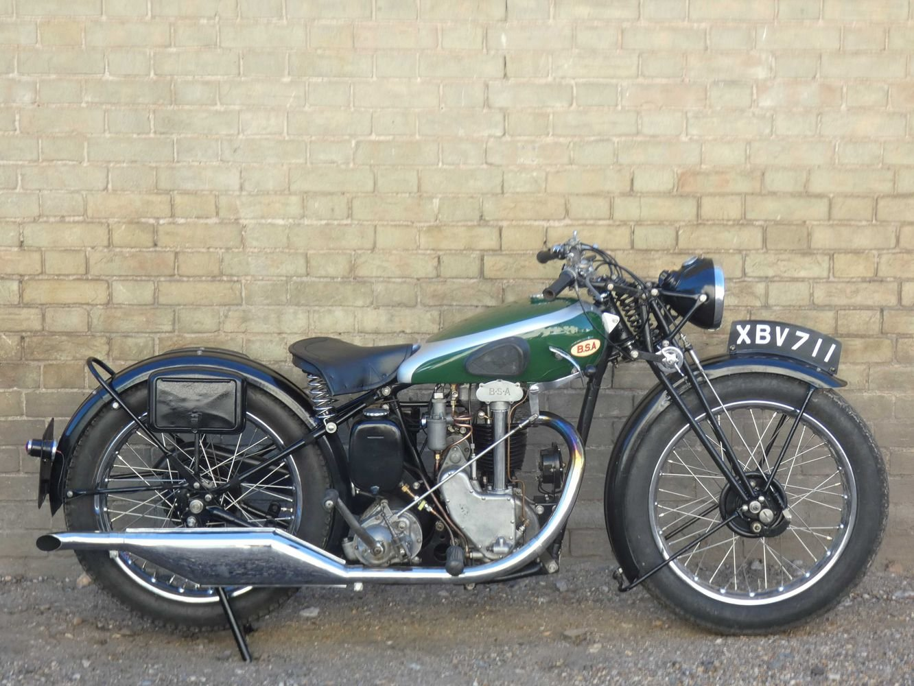 1935 BSA R35-4 350cc For Sale (picture 1 of 6)