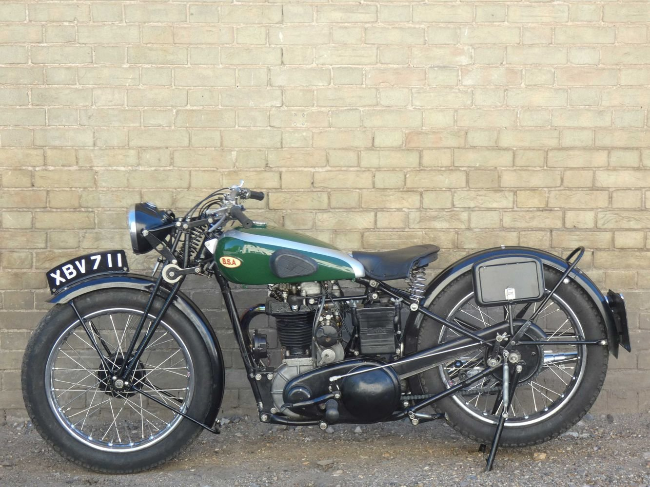 1935 BSA R35-4 350cc For Sale (picture 2 of 6)