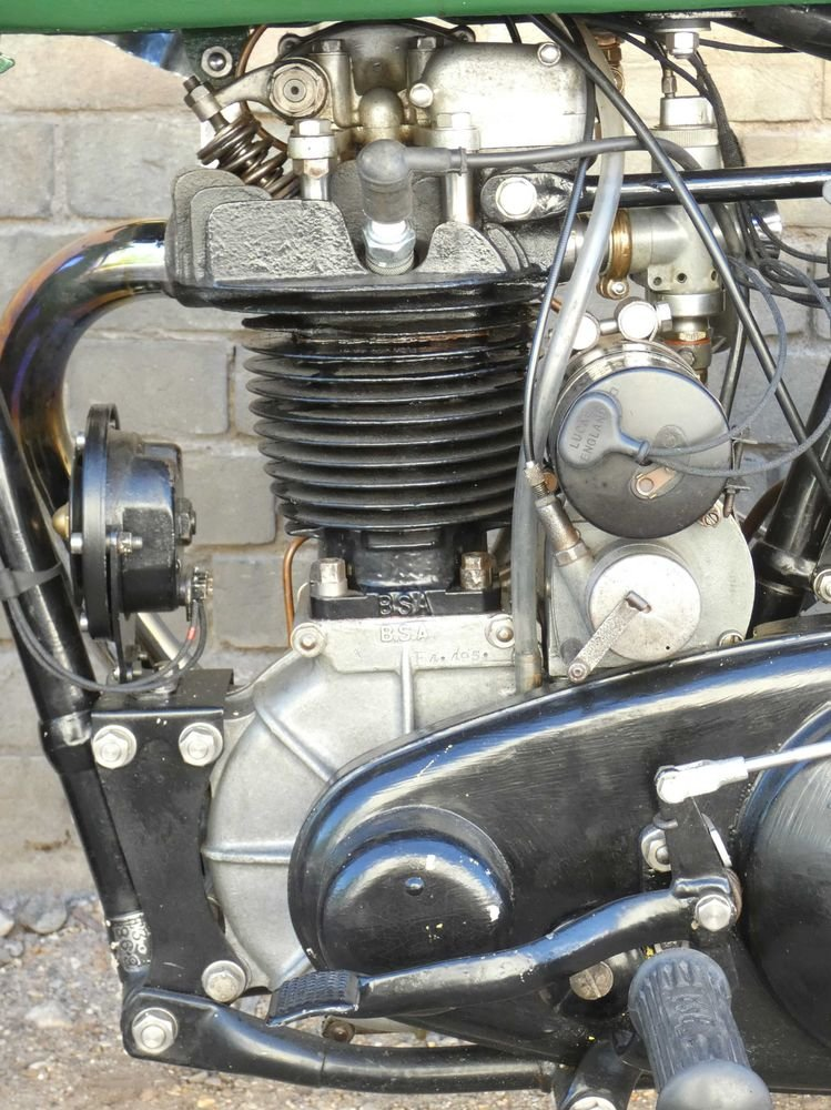 1935 BSA R35-4 350cc For Sale (picture 4 of 6)