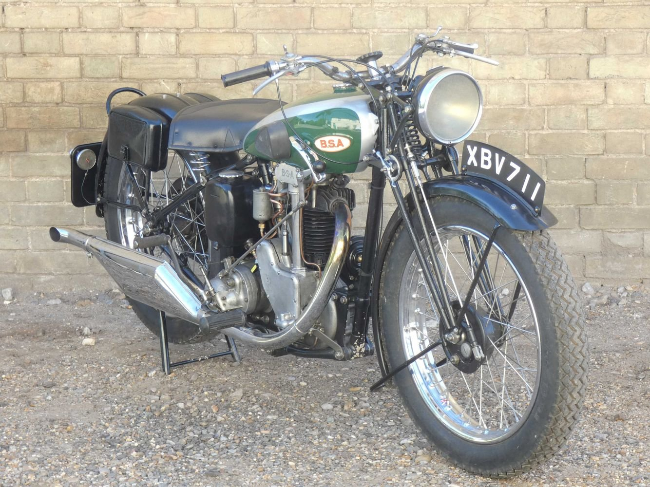 1935 BSA R35-4 350cc For Sale (picture 6 of 6)
