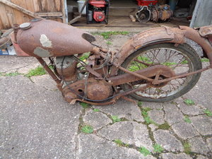 1947 Bsa c10 x 2 rough projects