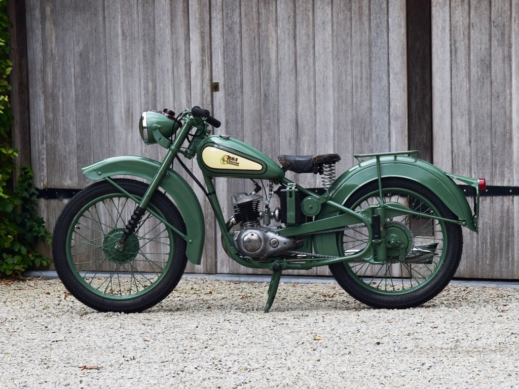1951 BSA Bantam D1 with Lucas electrics and plunger springs SOLD (picture 1 of 6)