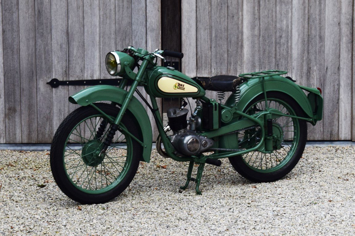 1951 BSA Bantam D1 with Lucas electrics and plunger springs SOLD (picture 2 of 6)
