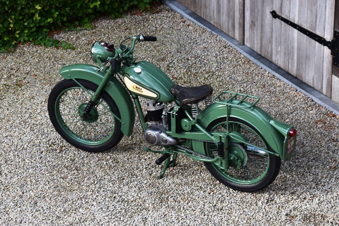 1951 BSA Bantam D1 with Lucas electrics and plunger springs SOLD (picture 3 of 6)